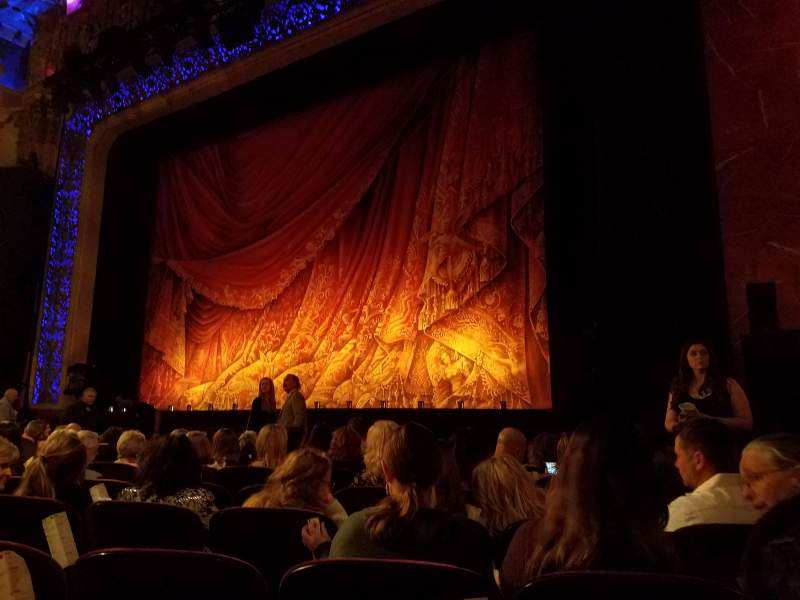 Seating view for Saenger Theatre (New Orleans) Section Orchestra R Row J Seat 22