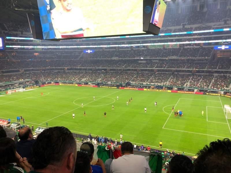 AT&T Stadium, section: C307, row: 4, seat: 6