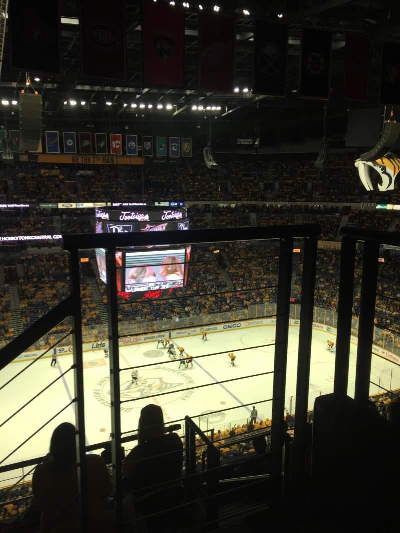 Bridgestone Arena, section: 324, row: G, seat: 1