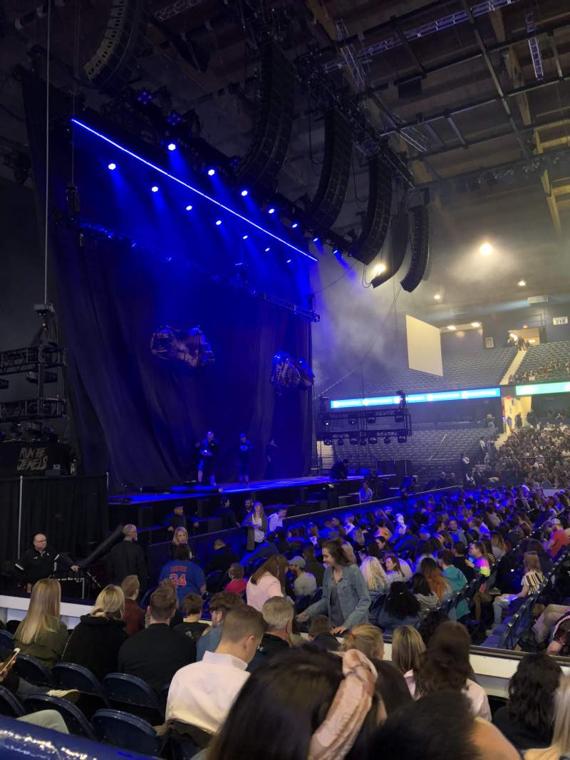 Seating view for Allstate Arena Section 103 Row A Seat 14