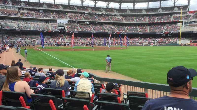 SunTrust Park, section: 10, row: 13, seat: 8