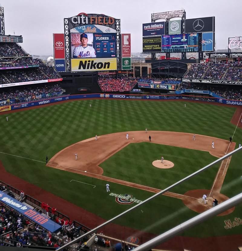 Citi Field, section: 518, row: 1, seat: 3