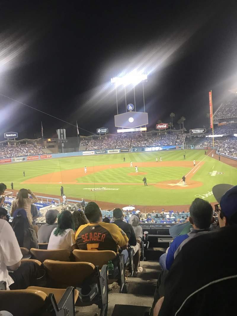 Dodger Stadium, section: 113LG, row: H, seat: 6