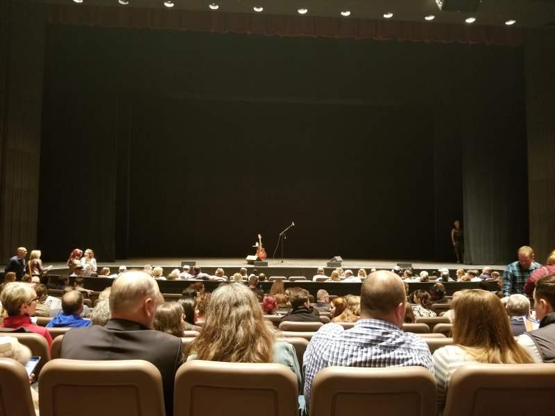 Chapman Music Hall - Tulsa Performing Arts Center, section: OL, row: K, seat: 105