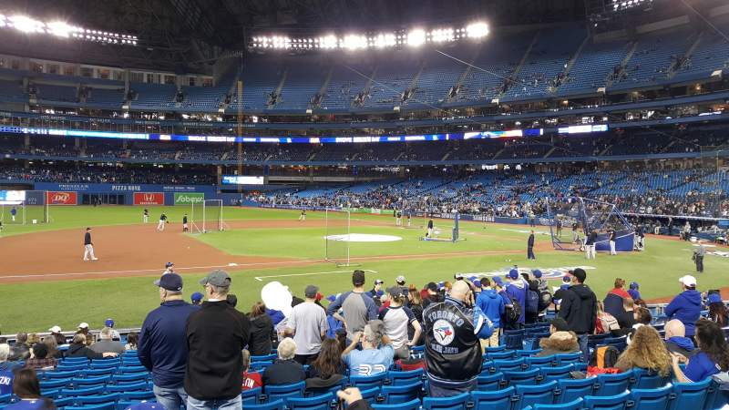 Rogers Centre, section: 128r, row: 17, seat: 11