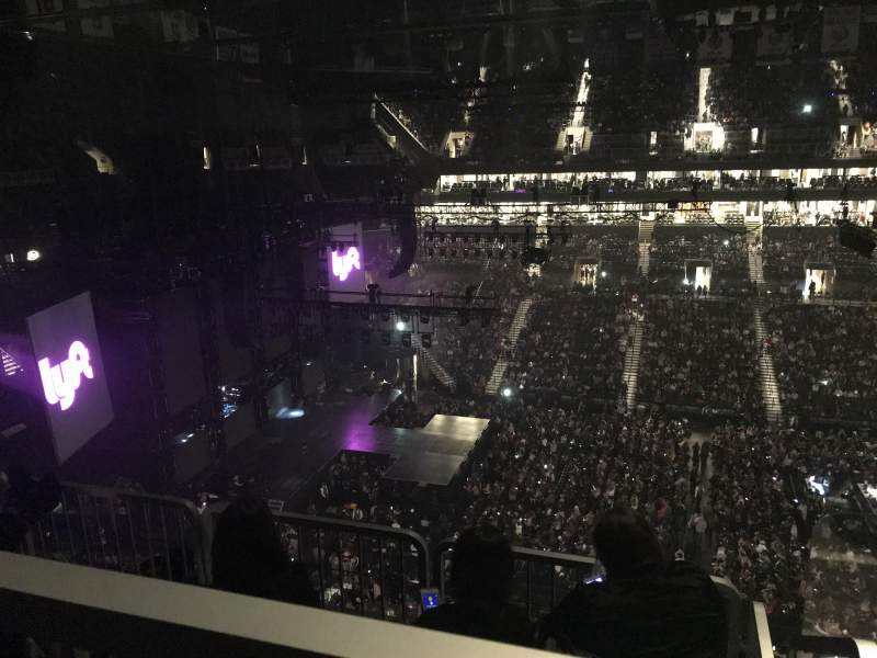Barclays Center, section: 225, row: 5, seat: 1