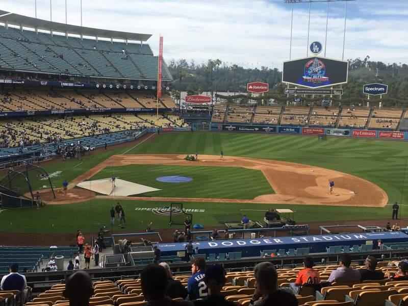 Dodger Stadium, section: 128LG