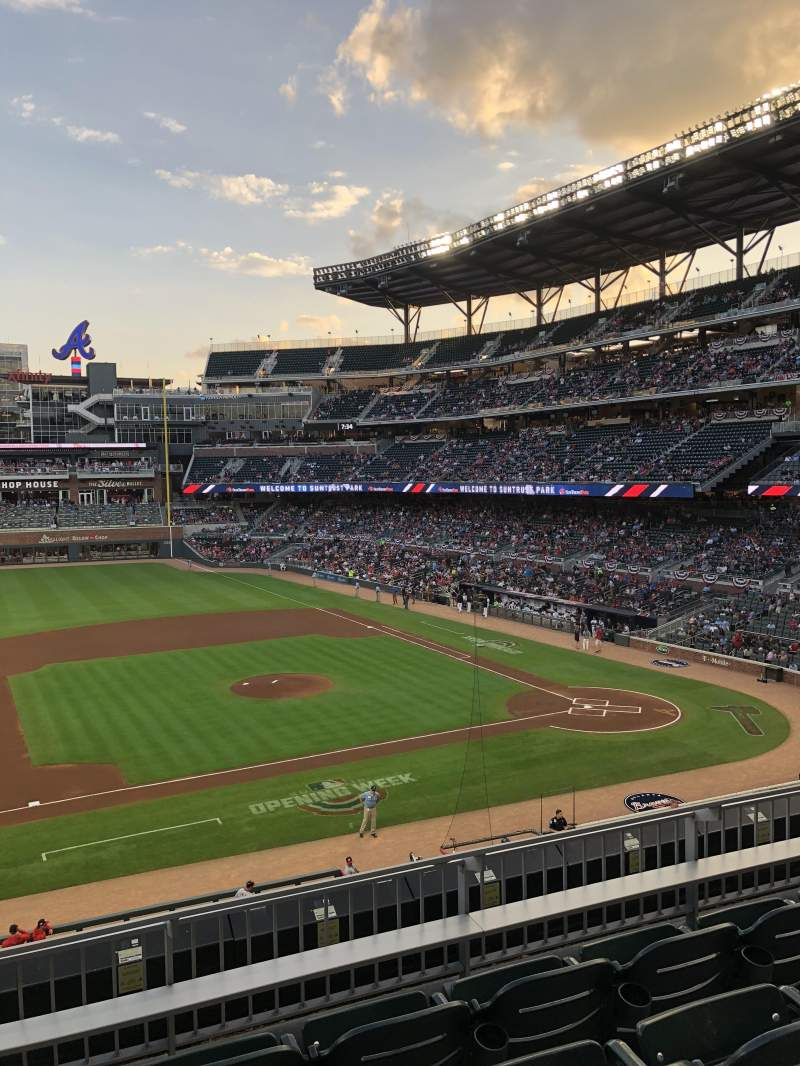 SunTrust Park, section: 233, row: 4, seat: 9