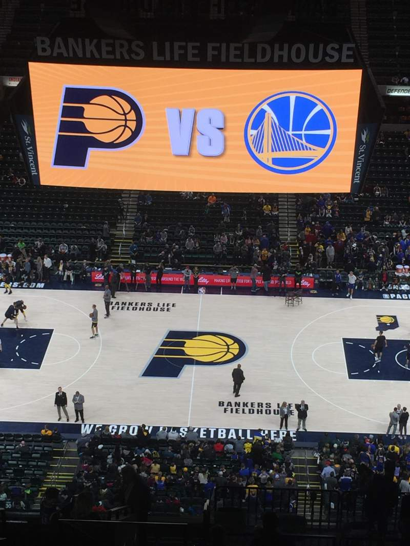 Bankers Life Fieldhouse, section: 225, row: 18, seat: 22