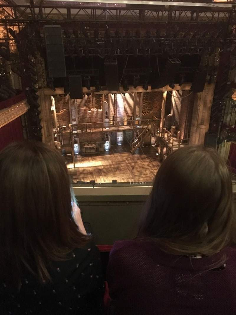 Seating view for CIBC Theatre Section Balcony LC Row C Seat 419