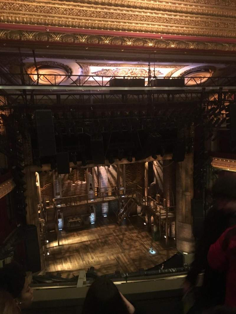 Seating view for CIBC Theatre Section BALCONY LC Row C Seat 421