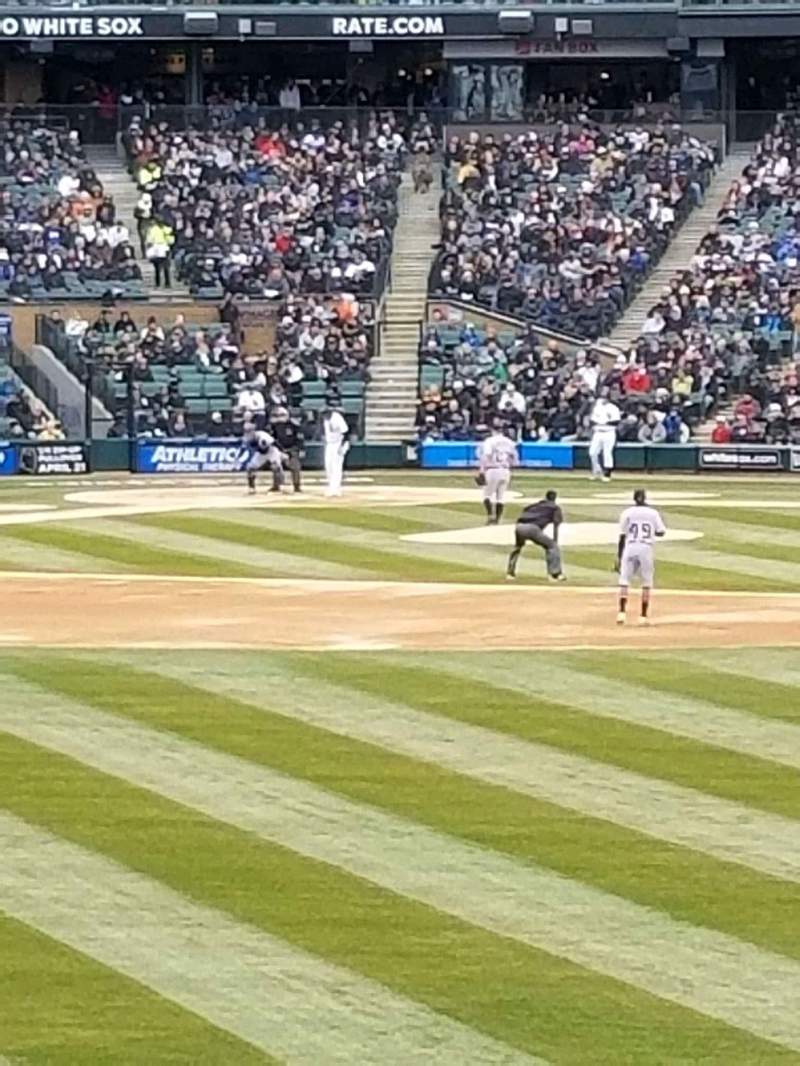 Seating view for Guaranteed Rate Field Section 102 Row 16 Seat 1