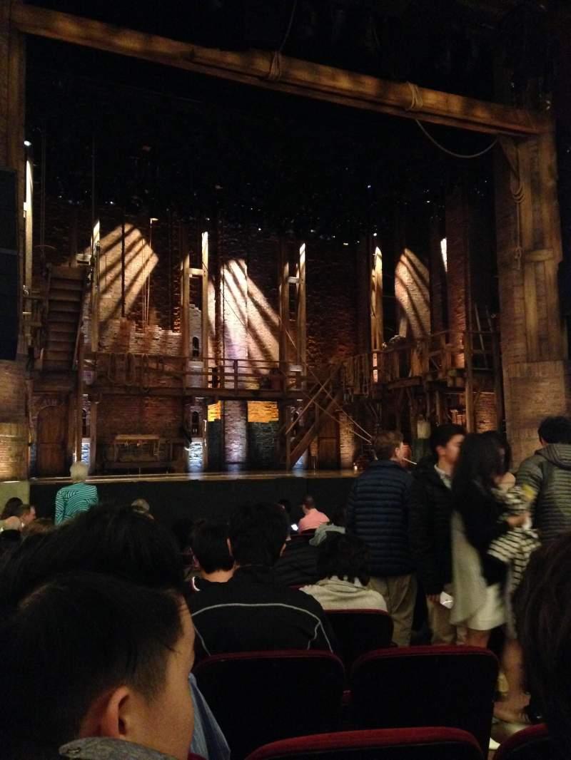 CIBC Theatre, section: Orchestra, row: P, seat: 5