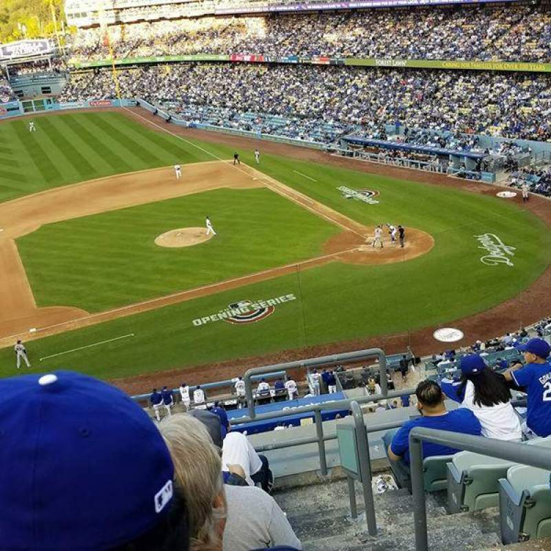 Dodger Stadium, section: 19RS, row: H, seat: 2