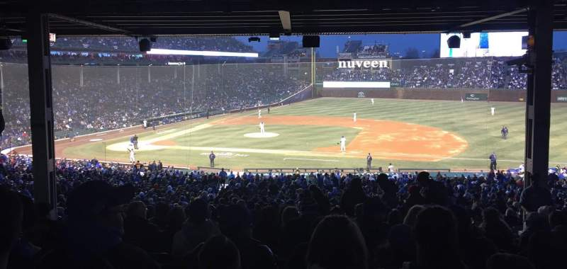 Seating view for Wrigley Field Section 225 Row 21 Seat 13