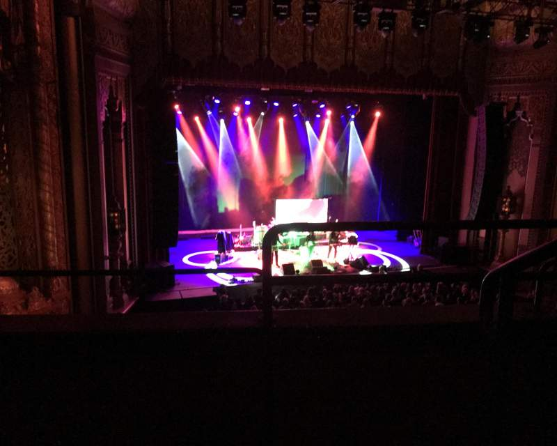 Seating view for Fox Theatre Oakland Section Loge Row B Seat 1
