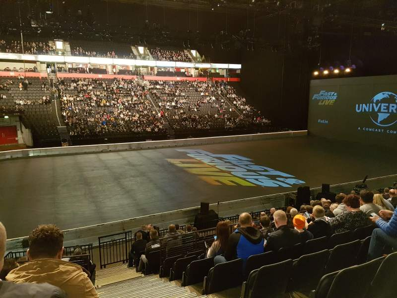 Manchester Arena, section: 112, row: P, seat: 15
