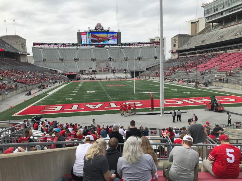 Seating View For Ohio Stadium Section 4a Row 7 Seat 11