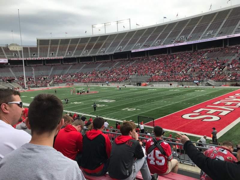 Ohio Stadium, section: 27a, row: 6, seat: 23