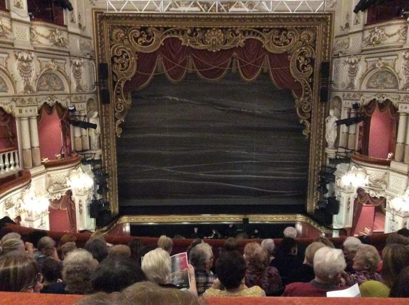 Seating view for Lyceum Theatre (Sheffield) Section Circle Row G Seat 16