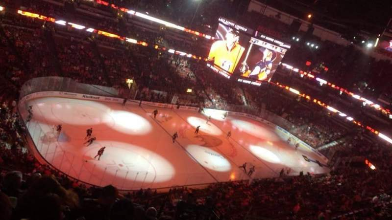 Seating view for Honda Center Section 439 Row M Seat 5