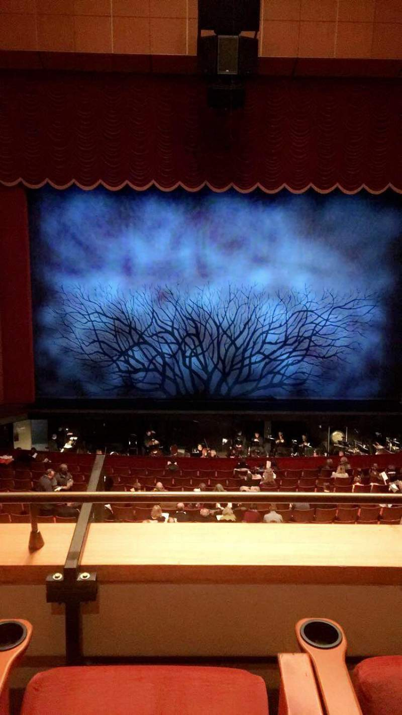 Seating view for Uihlein Hall Section Box Row G Seat 7