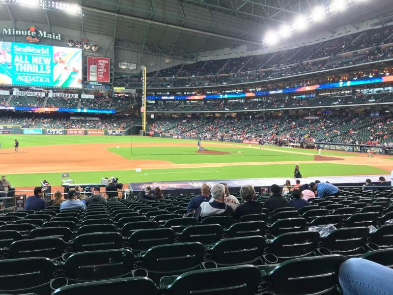 Minute Maid Park, section: 112, row: 19, seat: 4