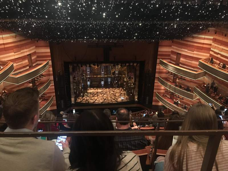 Seating view for Eccles Theater Section 3TL Row H Seat 12