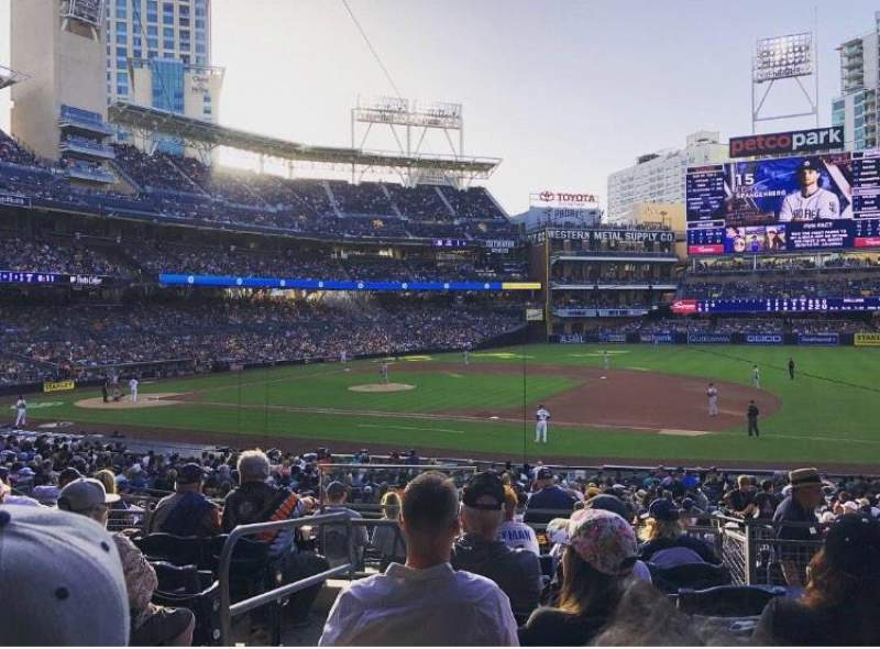 PETCO Park, section: 113, row: 32, seat: 4
