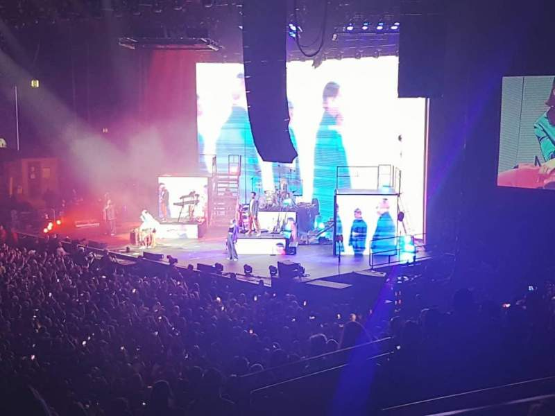 Genting Arena, section: block 3, row: q, seat: 59