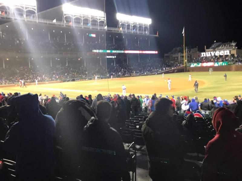 Wrigley Field, section: 134, row: 3, seat: 3