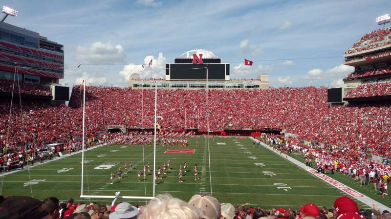 Memorial Stadium (Lincoln), section: 16, row: 32, seat: 7