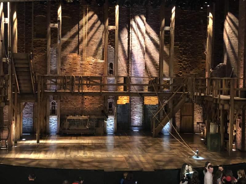 CIBC Theatre, section: Dress Circle C, row: A, seat: 202