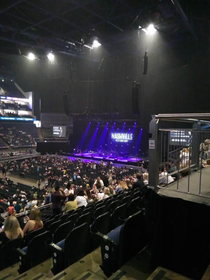 The O2 Arena, section: 110, row: Y, seat: 318