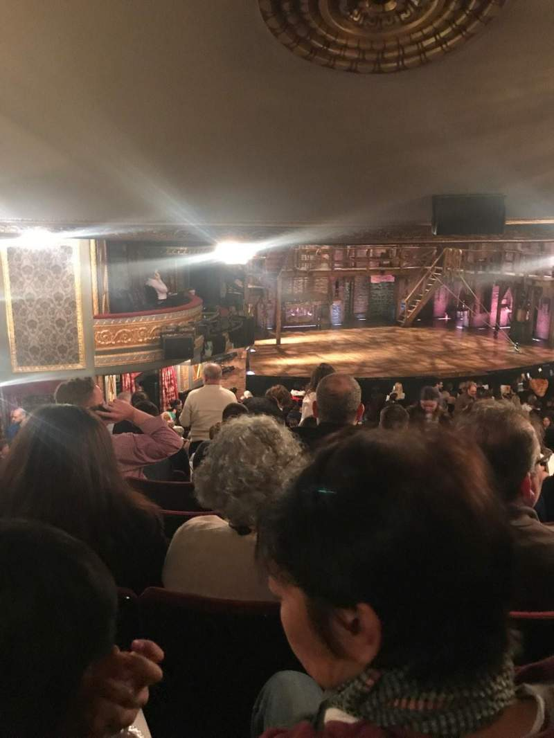 Seating view for Richard Rodgers Theatre Section Orchestra L Row V Seat 27