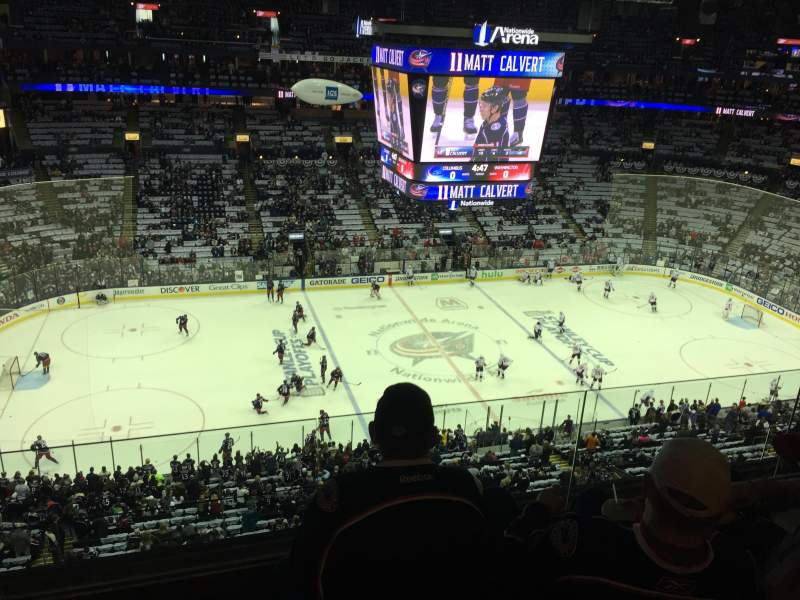 Nationwide Arena, section: 218, row: E, seat: 15
