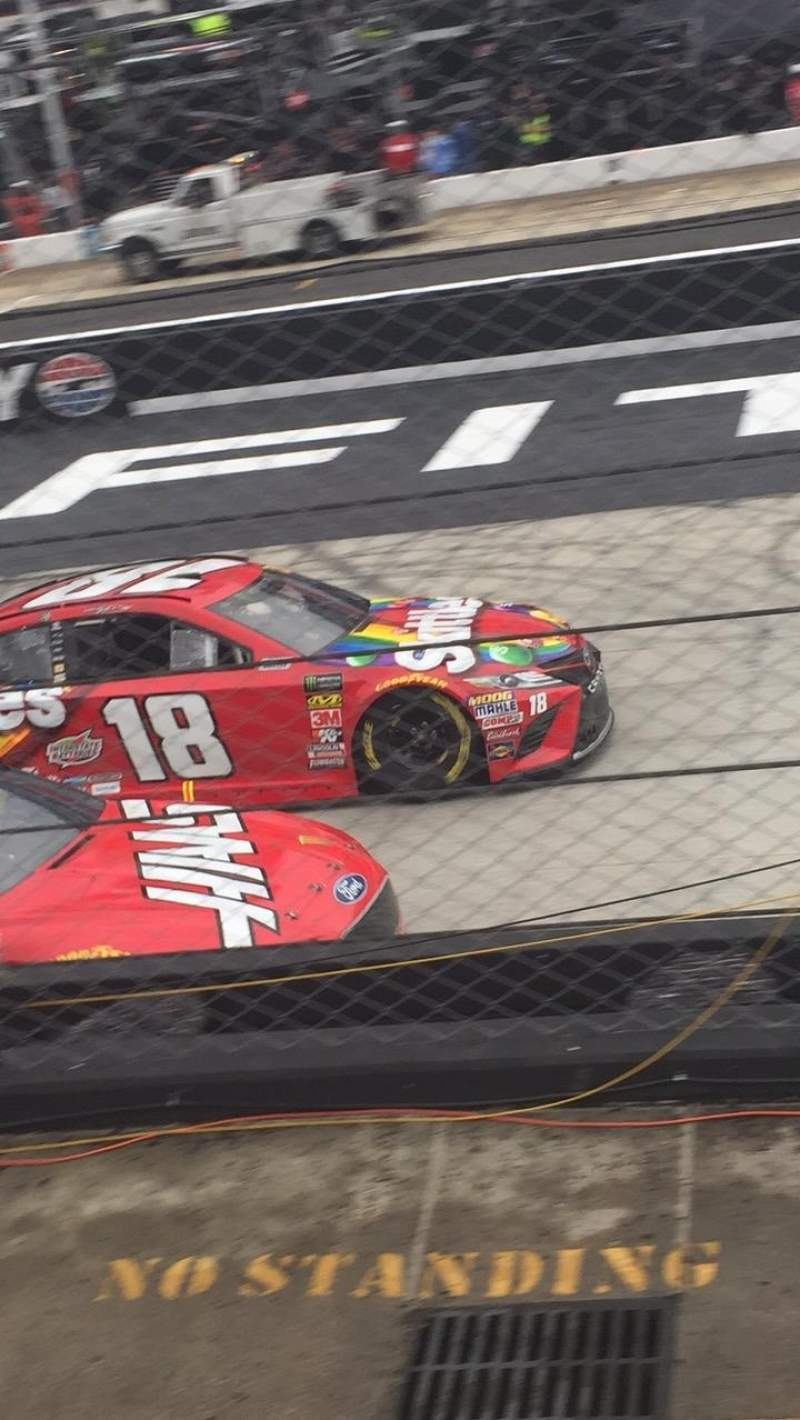 Bristol Motor Speedway, section Allison F, row 1, seat 8-9 - Food City 500, Shared Anonymously