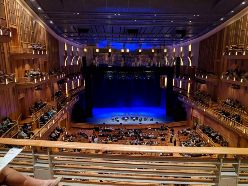 Seating view for The Music Center at Strathmore Section Grand Tier Row B Seat 31