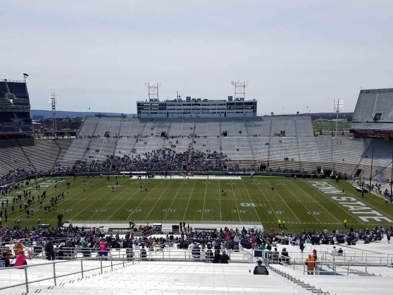 Beaver Stadium, section: EFU, row: 72, seat: 10