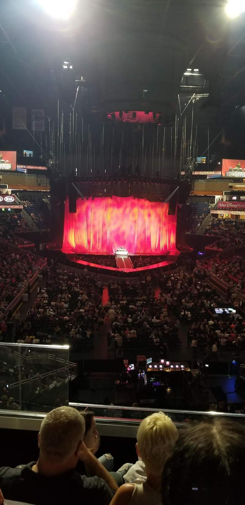 Amway Arena, section: 110A, row: 26, seat: 18