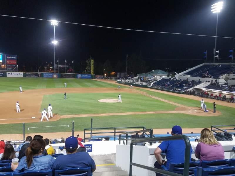 LoanMart Field, section: 12, row: 10, seat: 1