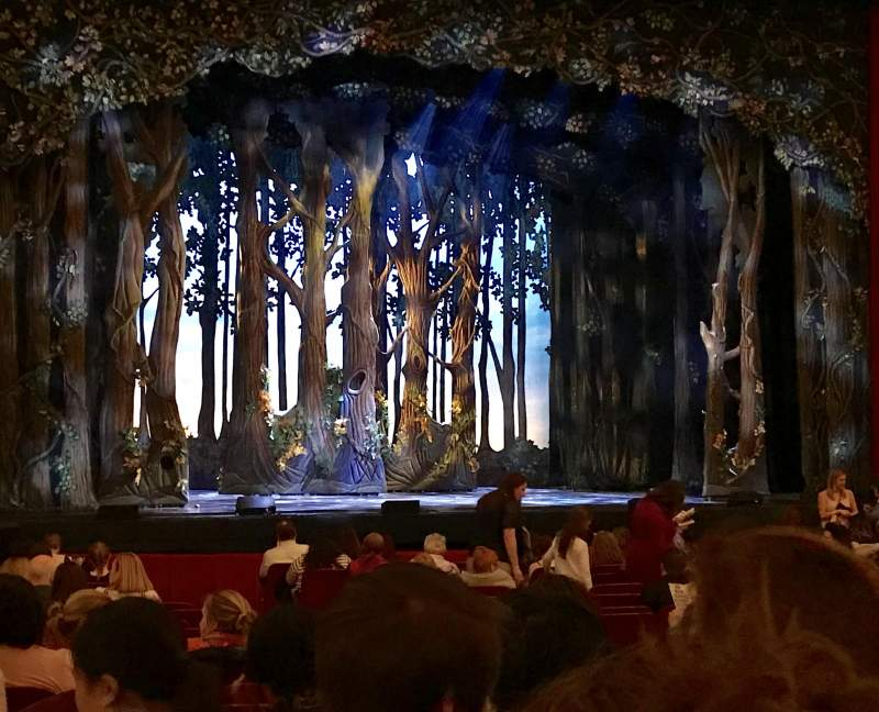 Cadillac Palace Theater, section: Orchestra C, row: R, seat: 13