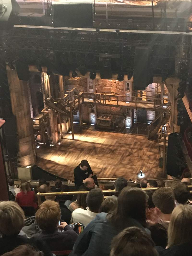Seating view for CIBC Theatre Section BALCONY R Row P Seat 4