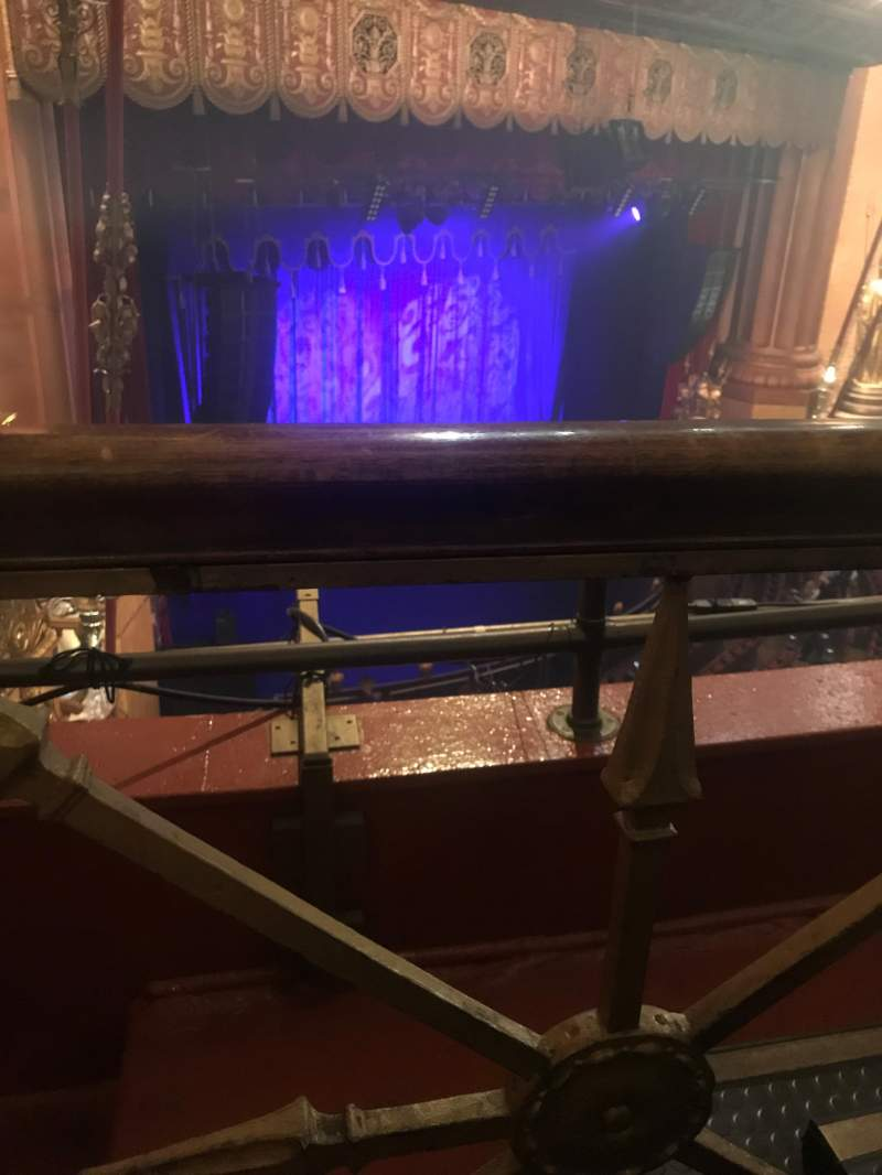 Seating view for Beacon Theatre Section Lower Balcony C Row B Seat 45