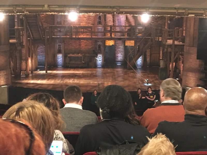 CIBC Theatre, section: Dress Circle C, row: E, seat: 208