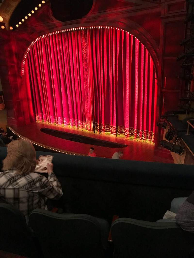 Shubert Theatre, section: Mezz, row: C, seat: 20