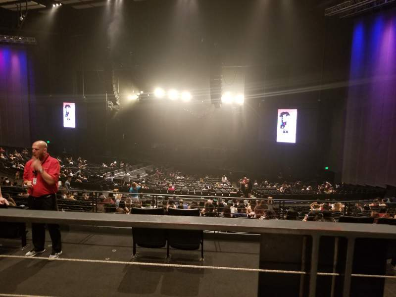 Seating view for The Theatre at Grand Prairie Section 303 Row BB Seat 9