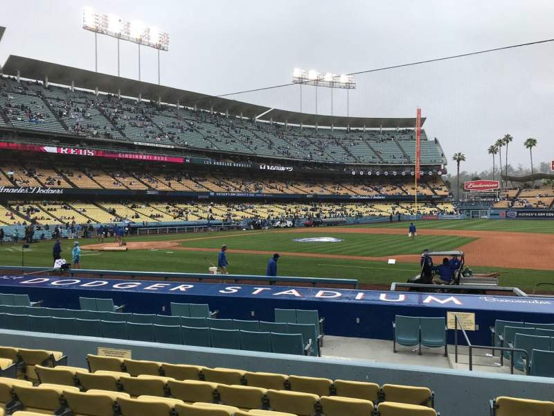 Seating view for Dodger Stadium Section 22FD Row H Seat 8