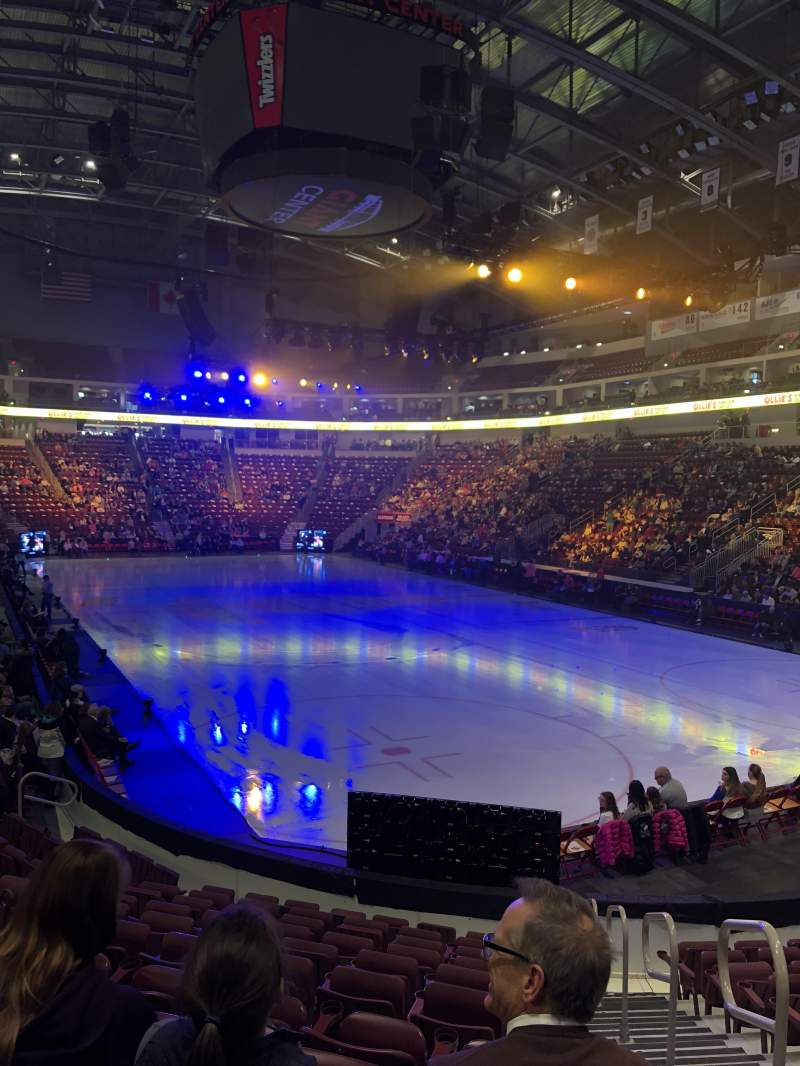 Giant Center, section: 110, row: L, seat: 1