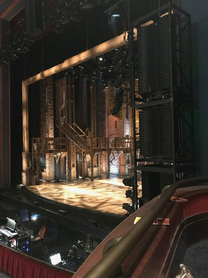 Seating view for Sarofim Hall Section RT BOX LMTD VIEW Seat 4